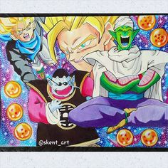 Dragon Ball Z ~ Trunks, King Kai, Goku, Piccolo