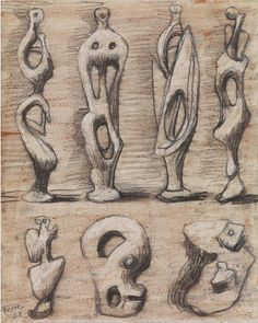 Henry Moore sketches