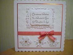 Pinterest Christmas Handmade Cards Spellbinders | Share