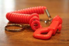 Der Telefonkabel – Schlüsselanhänger