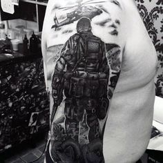 Military Tattoos For Men Memorial War Solider Designs Intended For Military Tattoo Pertaining To Tattoo Art