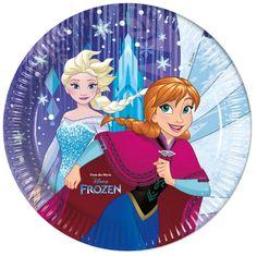 Frozen Snowflakes- lautanen, suuri