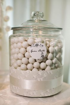 GUM BALLS all in white. To go with my white candy canes at Christmas. All White, Pure White, Plum Pretty Sugar, Shades Of White, White Houses, Creamy White, Wedding Wishes, White Decor, Inspired Homes