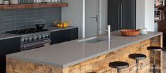 20+ Concrete Quartz Countertops - Kitchen Decorating Ideas themes Check more at http://mattinglybrewing.com/2018-concrete-quartz-countertops-apartment-kitchen-cabinet-ideas/