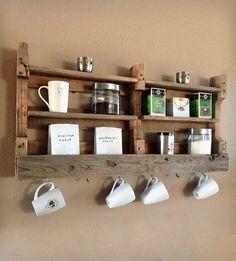 Paletten-Möbel-Pläne DIY Küchenmöbel Ideen Offene Regale - 1001 Haus Deko Ideen
