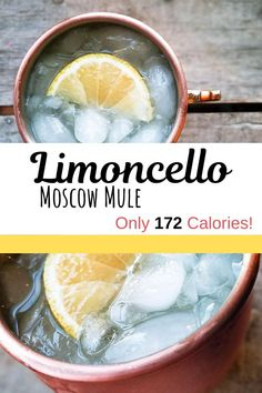 Limoncello Moscow Mule You may be watching your calorie intake but that doesn't mean you can't indulge every so often! My Limoncello Moscow Mule has only 172 calories. Compare to a traditional Moscow Mule which comes in at a whopping 339 calories! Summer Drinks, Cocktail Drinks, Fun Drinks, Cocktail Recipes, Alcoholic Drinks, Cocktails, Drink Recipes, Fireball Recipes, Bourbon Drinks