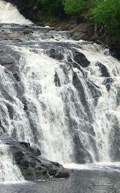 Potato Falls | Travel | Vacation Ideas | Road Trip | Places to Visit | Gurney | WI | Scenic Point | Natural Feature