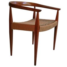 Early Nanna Ditzel Chair, Made in Denmark 1