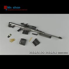 1/6 Scale ZY TOYS M82A1 Sniper Rifle Barrett Light 50 Color Camouflage/Black Gun Weapon Toys For 12″Action Figure Accessories  http://playertronics.com/products/16-scale-zy-toys-m82a1-sniper-rifle-barrett-light-50-color-camouflageblack-gun-weapon-toys-for-12action-figure-accessories/