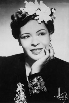 Billie Holiday  - 17 Iconic Vintage Hairstyles We're Still Obsessed With Today