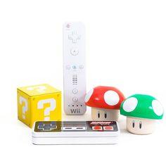 Nintendo candy gift set.