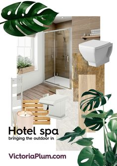 Learn how you can easily recreate the hotel chic look in your own home with help from our handy mood board. Chic Bathrooms, Own Home, Bath Mat, Boards, Mood, Branding, Inspiration, Google, Home Decor