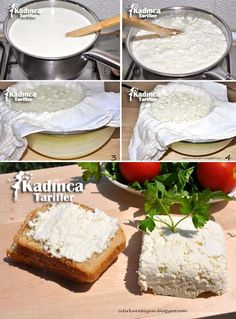 Ricotta, Vanilla Cake, Pickles, Feta, Camembert Cheese, Dairy, Food And Drink, Yummy Food, Cooking