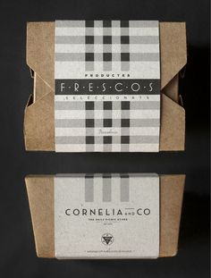 Cornelia & Co. - bakery packaging