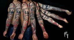 #sleeve#tattoo#fullhealed #Husaria #MatkaBoska #OrzełBiały #Patriotic #Polska#Poland#LadyMary#eagle