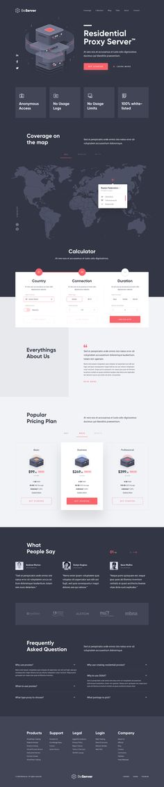 BeServer - Landing Page.png by Muh Salmon Web Design, Website Design Layout, Layout Design, Web Layout, Ui Website, Sign Up Page, Ui Design Inspiration, Dashboard Design, Fun Shots