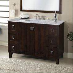 Image Gallery For Website Hardware Resources VAN T mahogany modern Bathroom Vanity with preassembled top and bowl Hardware and Bathroom vanities