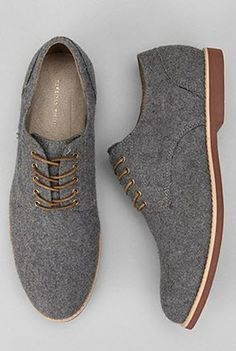 Urban Outfitters - Hawkings McGill Felt Buck Shoe. $78.