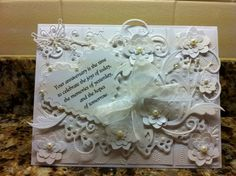 White on White by wandah - Cards and Paper Crafts at Splitcoaststampers
