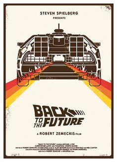 Back To The Future is a 1985 American science fiction comedy film. It was direct… Back To The Future is a 1985 American science fiction comedy film. It was directed by Robert Zemeckis, written by Zemeckis and Bob Gale, produced by Steven Spielberg. Movie Poster Art, Poster S, Cinema Posters, Film Posters, Poster Frames, Travel Posters, Vintage Movies, Vintage Posters, Vintage Graphic