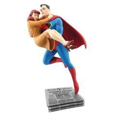 BLOG DOS BRINQUEDOS: Superman Lois Lane Rescue Fleischer Statue