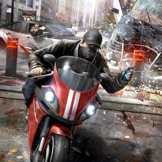 Watch Dogs owo Ooh, awesome, I've never seen this before XD -Will