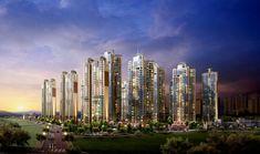 Benz G Class, Urban Design, San Francisco Skyline, New York Skyline, Tech, Building, Travel, Modern Buildings, Futuristic Architecture