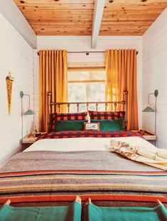 Before and After: An Unloved A-Frame Turned Retro-Inspired Retreat A-Frame Cabin Remodeling Project Ideas House Ideas, Cabin Ideas, Vintage Cabin, A Frame Cabin, Up House, River House, The Ranch, Small Spaces, New Homes