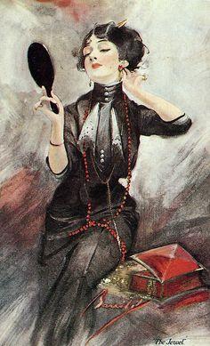 """The Jewel"" ~ W. Barribal, 1912."