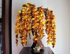 DIY Creative Handmade Felt Trees from Template Felt Diy, Handmade Felt, Felt Crafts, Diy Crafts, Design Crafts, Fall Mesh Wreaths, Felt Tree, Sewing Art, Art Plastique