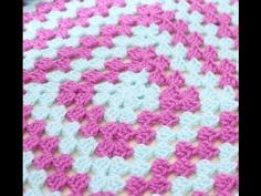 Crochet for beginners : Easy traditional granny square