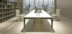 Mesas Escritório Design More por International Office Concept, design Carlo Colombo