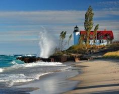 Point Betsie Lighthouse - Crystallia, Michigan. by maria.t.rogers
