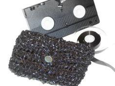 VHS Tape Clutch Purse DIY Craft Project