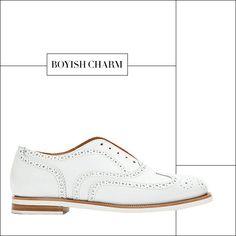 Spring 2013 Shoe Report: 50 Chic Pairs: Boyish Charm