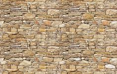 Rustic Stone Wall - Tapetit / tapetti - Photowall