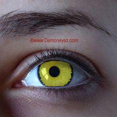 Raven Halloween Contact Lenses - Demon Eyez -Wild Lens Store