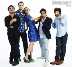 The Big Bang Theory ~ Johnny Galecki, Jim Pasons, Kaley Cuoco, Kunal Nayyar, & Simon Helberg ~ ♥