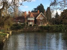 George Michael's house Mill Cottage , Goring on Thames Oxfordshire January 2017