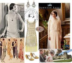 """Downton Abbey Season 3 Challenge #35"" by gypsymanatee on Polyvore"