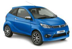 Sportliches Mopedauto Modell im schönen, blauen Farbton. #aixam #mopedauto #blau Small Cars, Passion, Vehicles, Motorbikes, Automobile, Color Blue, Sporty, Model, Vehicle