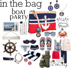 """In The Bag Boat Party"" by drdevience on Polyvore"