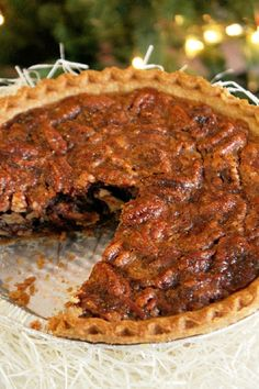 Loaded Pecan Pie-Creole Contessa
