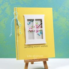 Sample by Julie Ebersole for the Classroom using Memory Box Madison Small window die