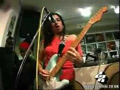 """Stronger Than Me"" - Amy Winehouse    *Love this one because she plays guitar!"