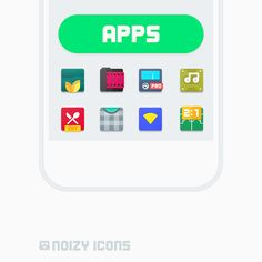 Noizy Icons v1.4.3   Noizy Icons v1.4.3Requirements:4.1 Overview:Welcome to closed beta program for Noizy Icons! Noizy is my new upcoming icon pack. It takes my icon design to a whole new level.  Welcome to closed beta program for Noizy Icons! Noizy is my new upcoming icon pack. It takes my icon design to a whole new level. Noizy features rich effects subtle but yet beautiful gradients noisy shadow filter and square based icons.  Features:  IconShowcase dashboard app by Jahir Fiquitiva  882…