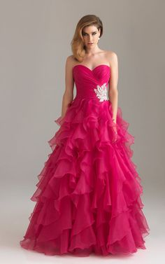 pink prom dress...LOVE