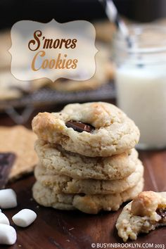 S'mores Cookies (no butter or margarine)