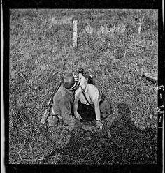 """""""Near Dol-de-Bretagne, Ille-et-Vilaine, Brittany"""" John G. Morris (August 7, 1944)"""