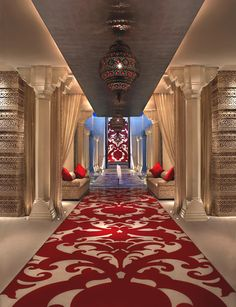 The Royal Spa, India! A spa idea, isn't? Belling, Smith Carew, Owen: What do we think? Idea approved by Maison Valentina Spa Design, Salon Design, House Design, Spa Interior, Interior And Exterior, Interior Design, Deco Spa, Piscina Spa, Salas Lounge